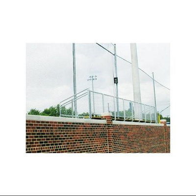 Collegiate Pacific Boundary / Protective Knotless Netting - 14'H x 100'L