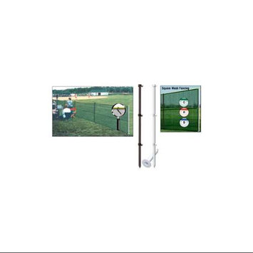 Markers Inc Outfield Fencing Pack w/Smart Pole Set (SET) - Dark Green