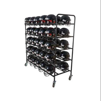 Athletic Connection Football Helmet Cart in Black