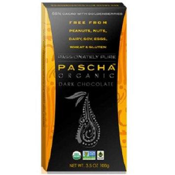Pascha Organic Dark Chocolate with Goldenberries - 3.5 oz
