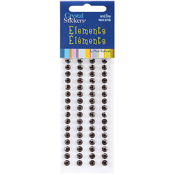 Mark Richards CS5mm-2532 Crystal Stickers Elements 5mm Round 6