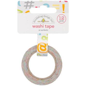 Doodlebug Take Note Washi Tape-So Symbolic