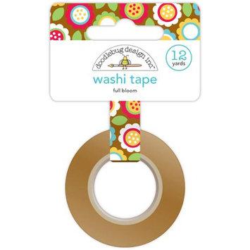 Doodlebug DTDWT-3994 Day To Day Washi Tape 12 Yards-Full Bloom