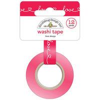 Doodlebug Washi Tape 15mmX12ydLove Always
