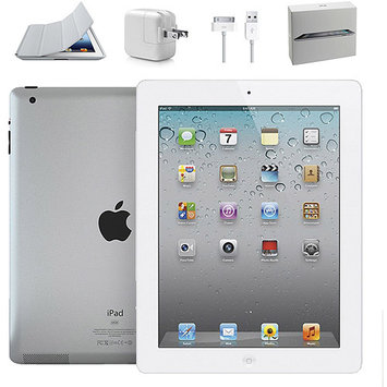 Ereplacements Apple IPad 2 Wi Fi Tablet 16GB 9 7 Quot IPS 1024 X 768 Rear Camera Front Camera Wi Fi Bluetooth White Refurbished HEC0NGE2I-1611