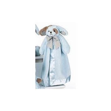 Bearington Baby Waggles Snuggler Blanky-BLUE-One Size