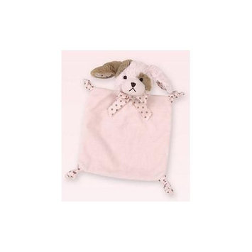 Bearington Baby Infant Wee Wiggles Blankie-PINK-One Size