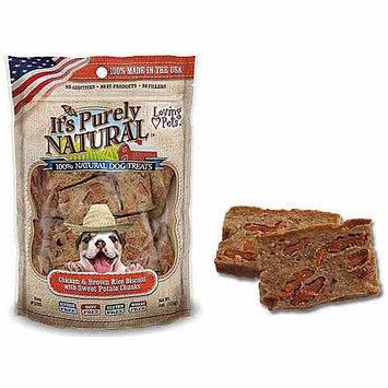 Phillips Feed & Pet Supply Loving Pet Natural Biscotti Dog Treat Sweet Potato
