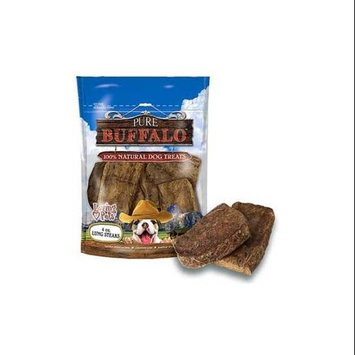Loving Pets Corp - Pet 5662 Loving Pets Corp-Pet-Pure Buffalo Lung Steaks 4 Ounce