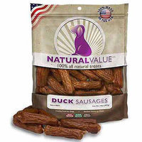 Loving Pets Natural Value Soft Chew Duck Sausages 14oz