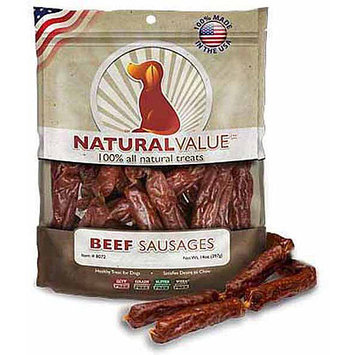 Loving Pets Natural Value Soft Chew Beef Sausages 14oz