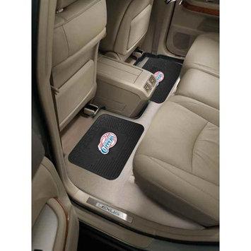 Fan Mats FANMATS 12374 NBA - Los Angeles Clippers Backseat Utility Mats 2 Pack