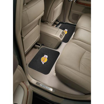 Fan Mats Fanmats 12375 NBA - Los Angeles Lakers Backseat Utility Mats 2 Pack 14 in. x 17 in.