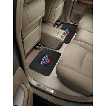 Fan Mats FANMATS 12381 NBA - New Orleans Hornets Backseat Utility Mats 2 Pack