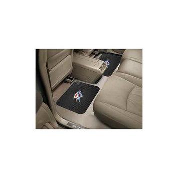 Fan Mats FANMATS 12389 NBA - Oklahoma City Thunder Backseat Utility Mats 2 Pack