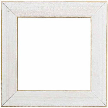 Mill Hill Wooden Frame 6X6-Matte Periwinkle