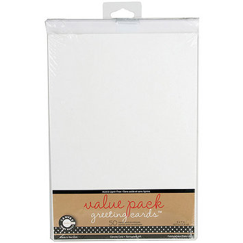 Canvas Corp Value Pack Cards & Envelopes 5inX7in 50/Pkg-Ivory