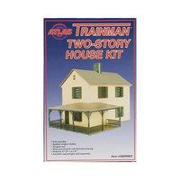 2009002 TM Structure Kit Two Story House O ATOU9952 ATLAS MODEL RAILROAD
