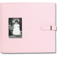 All My Memories UCAL12PINK Urban Postbound Album 12 x 12 Inch