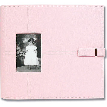 All My Memories UCAL12PINK Urban Postbound Album 12 x 12 Inch