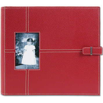 All My Memories UCAL12RED Urban Postbound Album 12 x 12 Inch