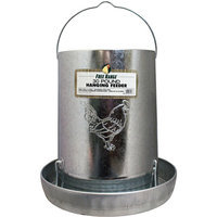 Jensen Distributing - Lawn & Garden Harris Farms LLC 30 Lb Hanging Metal Poultry Feeder
