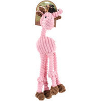 Nvmk Sales Nandog My BFF Corduroy Plush Toy Pink Deer