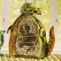Global Product Resources, Inc Deco Breeze 7 in. Figurine Fan-Alligator DBF0331