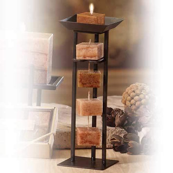 Deco Breeze NAT1453 Harmony Candle on Rope