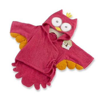Kate Aspen Baby Aspen My Little Night Owl Hooded Terry Spa Robe