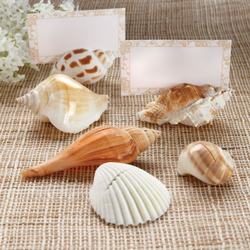 Coty Kate Aspen Set of 12 Shells By The Sea Place Card Holder Women's