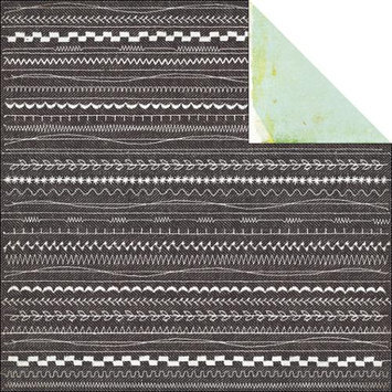 Basic Grey Clippings Double-Sided Cardstock 12