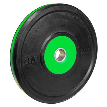 Valor Athletic BPP-25 25lb. Bumper Plate Pro - Black