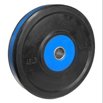 Valor Athletic BPP-45 45lb. Bumper Plate Pro - Black