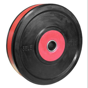 Valor Athletic BPP-55 55lb. Bumper Plate Pro - Black