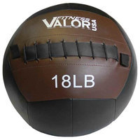Valor Athletic WB-18 18lb Wall Ball - Black