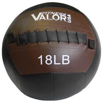 Valor Athletic WB-18 18lb Wall Ball - Black