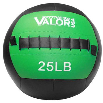 Valor Athletic WB-25 25lb Wall Ball - Black