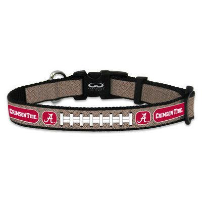 Game Wear Inc NCAA Arkansas Razorbacks Reflective Dog Collar MD