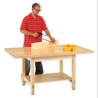 Diversified Woodcraft W-6036L Wood Bench- 1.75 in. Mt