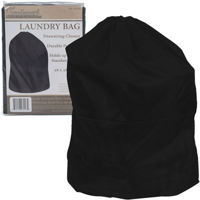 Trademark Tools Heavy Duty Jumbo Sized Nylon Laundry Bag - BLACK