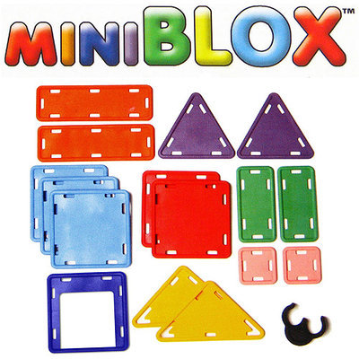 MiniBlox 16 Piece Set - Amazing Toys 1