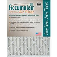20x25x1 (19.5 x 24.5) Accumulair Platinum 1-Inch Filter (MERV 11) (4 Pack)