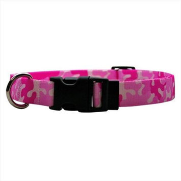 Yellow Dog Design CPK103L Camo Pink Standard Collar - Large