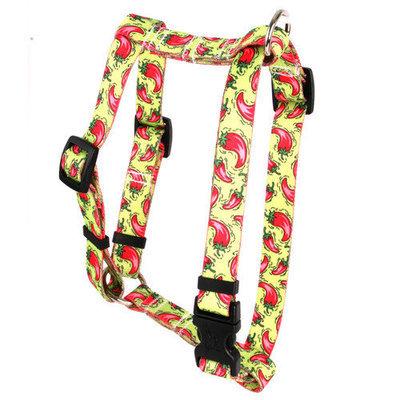 Yellow Dog Design H-HP101SM Hot Peppers Roman Harness - Small/Medium