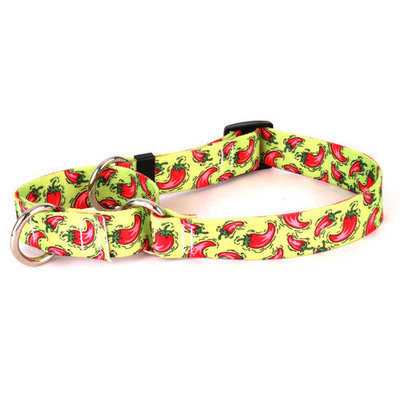 Yellow Dog Design Hot Peppers Martingale Collar
