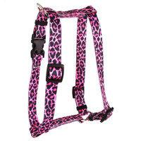 Yellow Dog Design H-LS101SM Leopard Skin Roman Harness - Small/Medium