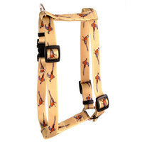 Yellow Dog Design H-PH101SM Pheasants Roman Harness - Small/Medium