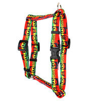 Yellow Dog Design H-RAS101SM Rasta Roman H Harness - Small/Medium