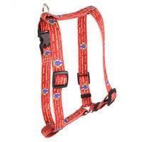 Yellow Dog Design H-WRW103L Red Wine Roman H Harness - Large